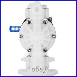 1/2 Air Driven Double Diaphragm Pump PTFE O-Rings Valve Balls Included 33lpm