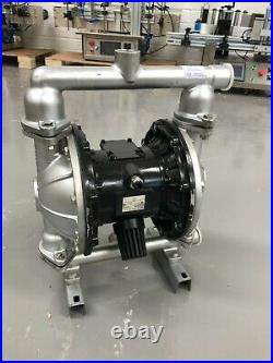 1 Air Diaphragm Pump Stainless with PTFE Seat Ball & Diaphragm