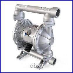 37GPM Air-Operated Double Diaphragm Pump 1.5'' Inlet & Outlet Aluminium Buna-N