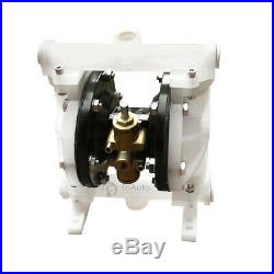 5.3GPM Pneumatic Double Diaphragm Pump 1/2'' Inlet Air-Operated Chemical Pump