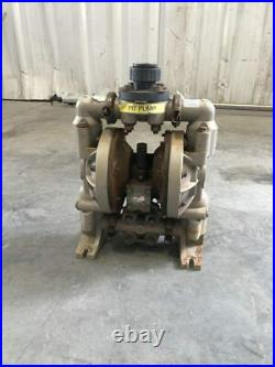 ARO 6661A3-344-C 1 PP/Iron Air Operated Double Diaphragm Pump 120PSI 47GPM