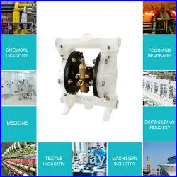 Air-Operated Double Diaphragm Pump Air-Operated 1/2inch Outlet 1/2inch Inlet