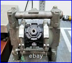 D54331 Graco Husky 716 Metal Air-Operated Double Diaphragm Pump B10S5