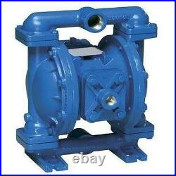 DOUBLE DIAPHRAGM PUMP Air Operated 45 GPM @ 100 PSI Commercial Grade Duty