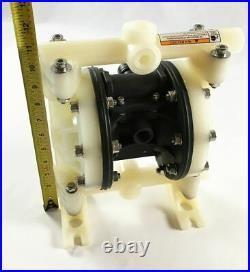 Double Diaphragm Air Pump Industrial Chemical Polypropylene 1/2 or 3/4 NPT In