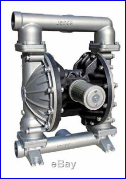 Double Diaphragm Teflon Air Pump PII. 50S Chemical Industrial Stainless Steel 1/2