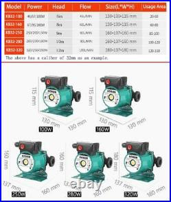 Electric Heating Hot Water Circulation Pump Central Warm Boiler Air Conditioner
