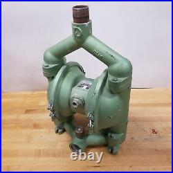Granzow DP50-FA-BBB-B, Air-Operated Double Diaphragm Pump. USED