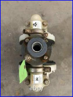 IR Ingersoll-Rand 6661B3-344-C Polypro Air Operated Double Diaphragm Pump 120PSI