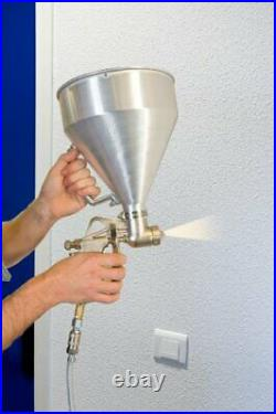 Mecafer 120133 Spray Gun and Hopper for Painting Pebbledash or Plaster Surfaces