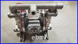 NEW SANDPIPER S05B1S1WANS000 Double Diaphragm Pump, Stainless steel Air Operated