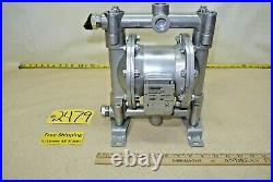 Roughneck #41763, Air-Operated Double Diaphragm Pump, Flow Rate 12 GPM/45 LPM