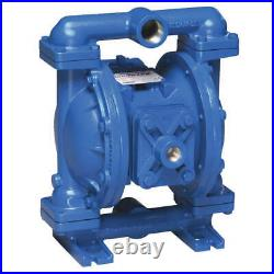 SANDPIPER S1FB1ABWANS000. Double Diaphragm Pump, Air Operated, 1