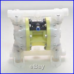 Updated Air-Operated Double Diaphragm Air Poly Pump 1/2 or 3/4 NPT