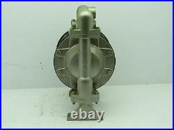 Versa-Matic Air Pneumatic Diaphragm Pump Stainless Steel 1NPT (NO TAG) Tested