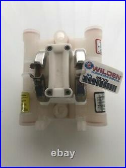 WILDEN AIR OPERATED PUMP - POLYPROPYLENE 1/4 (6mm) P. 025/P025/PLL/TF/TF/PTS